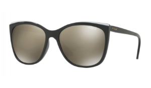 Óculos Vogue - 0VO5189SL In Vogue - Glossy Black/Beige W44/6G/58