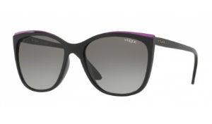 Óculos Vogue - 0VO5189SL In Vogue - Glossy Black/Purple W44/11/58