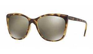 Óculos Vogue - 0VO5189SL In Vogue - Glossy Havana/Matte W6566G/58