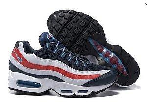 Nike Air Max 95 - Azul e Vermelho