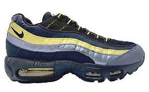 Nike Air Max 95 - Dourado e Azul