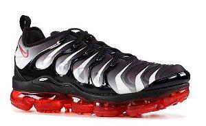 Nike Air VaporMax Plus - Cinza e Vermelho