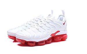 Nike Air VaporMax Plus Branco e Vermelho