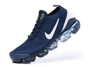 Tênis Nike Air VaporMax 3 - Azul e Branco