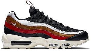 Nike Air Max 95 - marrom e Vermelho