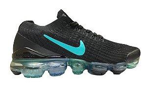Tênis Nike Air VaporMax 3 - Preto e Azul