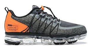 Nike VaporMax Utility - Cinza e Laranja