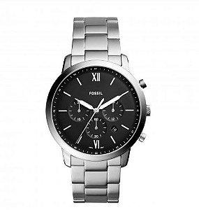 Relógio Masculino Fossil Casual Neutra Chrono Prata FS5384/1KN