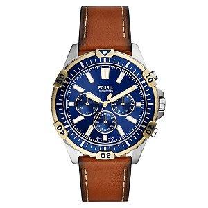 Relógio Fossil - Masculino - Cronógrafo Azul - FS56250KN