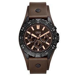 Relógio Fossil - Masculino - Cronógrafo Marrom - FS56260PN