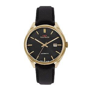 Relógio Technos Masculino Automático Suiço 2824aa/2p Dourado