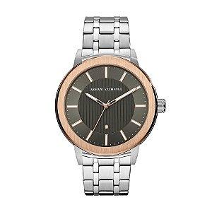 Relógio Armani Exchange - Masculino - AX14701KN - Prata e Dourado