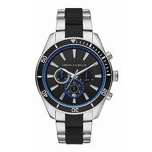 Relógio Armani Exchange Enzo - Masculino - AX18311KN - Prata e Azul