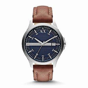 Relógio Armani Exchange - Masculino - AX21330AN - Prata e Azul