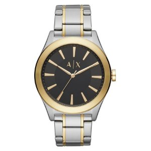 Relógio Armani Exchange - Masculino - AX23361KN - Prata e Dourado