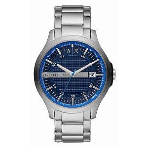 Relógio Armani Exchange - Masculino - AX24081KN - Prata e Azul