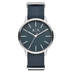 Relógio Armani Exchange - Masculino - AX27120KN - Prata e Azul
