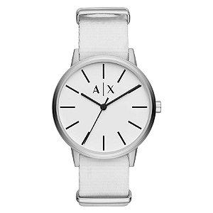 Relógio Armani Exchange - Masculino - AX27130BN - Prata e Branco