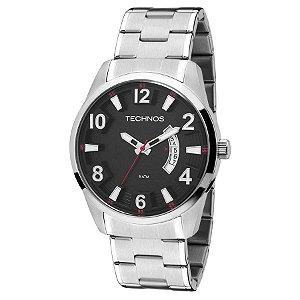 Relógio Technos - Masculino - 2115KSU1R  - Prata