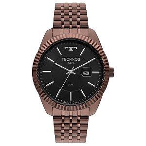 Relógio Technos - Masculino - 2115MSW4P  - Marrom