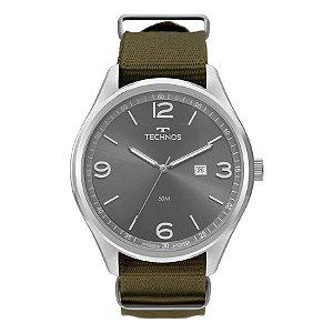 Relógio Technos - Masculino - 2115MUA8V  - Prata