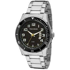 Relógio Technos - Masculino - 2115KSL1Y  - Prata