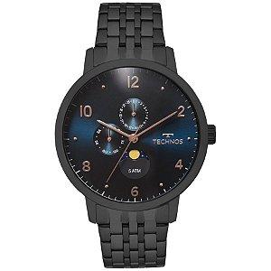 Relógio Technos - Masculino - 6P21AA4P  - Preto