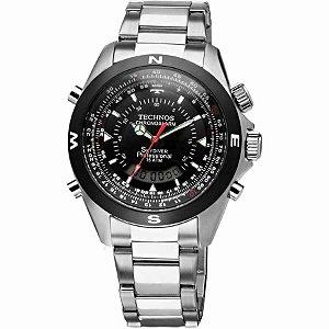 Relógio Technos - Masculino - T205601P  - Prata