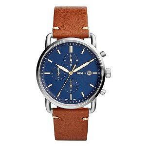 Relógio Fossil - Masculino - FS54010MN  - Prata