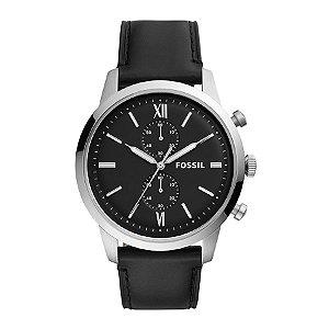 Relógio Fossil - Masculino - FS55480PN  - Prata