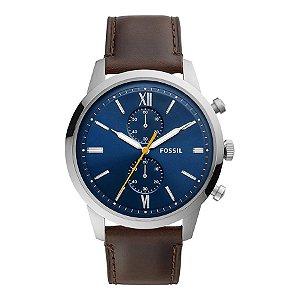 Relógio Fossil - Masculino - FS55490AN  - Prata