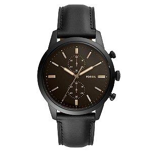 Relógio Fossil - Masculino - FS55850PN  - Preto