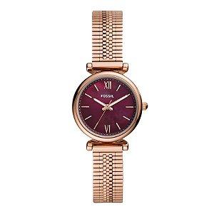 Relógio Fossil - Feminino - ES46461JN   - Rose