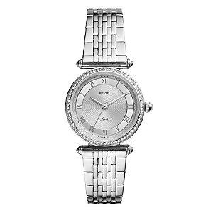 Relógio Fossil - Feminino - ES47121KN  - Prata