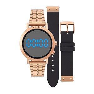 Relógio Feminino - Euro - EUBJ3407ACT4P -Rose