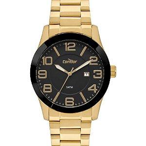 Relógio Masculino - Condor - CO2115KTS4P - Dourado