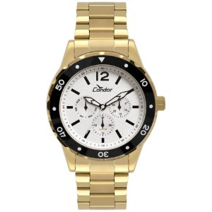 Relógio Masculino - Condor - CO6P29IP4B - Dourado