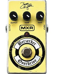 MXR ZAKK WYLDE OVERDRIVE/DISTORTION ZW44