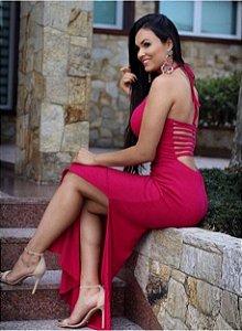 Vestido longo pink Divino :)