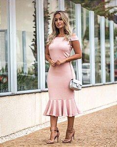 Vestido rosê super verão