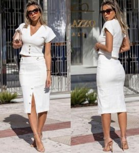 Conjunto Adriana - Off white