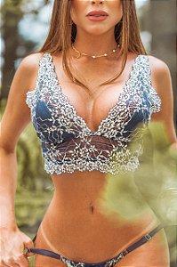 Conjunto lingerie deslumbrante LUA