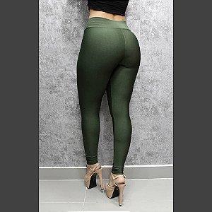 Legging em suplex Basic (não fica transparente) - Verde militar