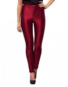 Disco Pants marsala