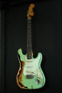Guitarra GBSpro Stratocaster Relic - Surf Green