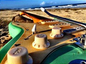 Guitarra GBSpro Stratocaster DESTRO Relic - Surf  Green