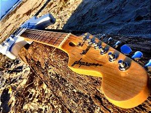 Guitarra GBSpro Stratocaster - Branca braço Maple