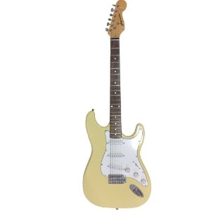 Guitarra GBSpro Stratocaster - Branco Vintage