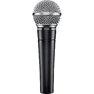 Microfone Mão Shure SM58-LC