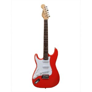 Guitarra GBSpro Stratocaster Canhoto - Red Fiesta